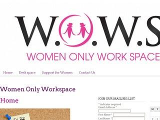 Women Only Work Space