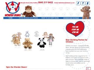 Wonder Bears - bear building parties