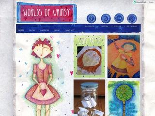 Worlds of Whimsy-Asha Pearse Illustrations