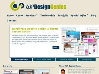 WordPress site and blog design