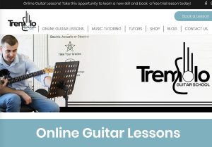 Tremolo Online Guitar School